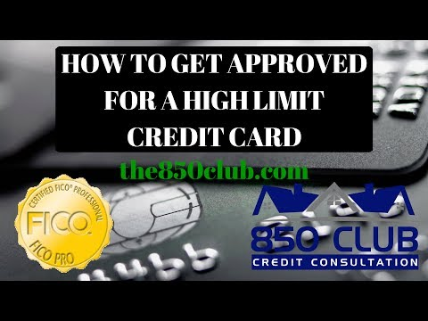 How To Get A High Limit Credit Card In 2018 Without Building Credit Card Debt - FICO