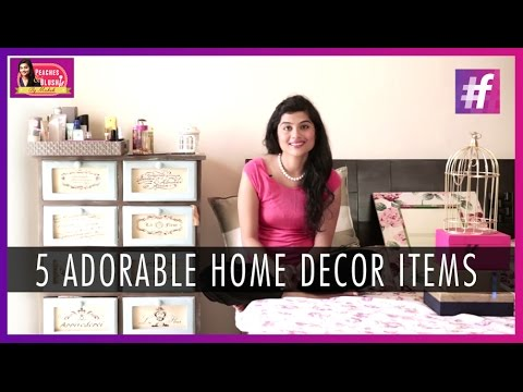 5 Adorable Home Decor Items To Liven Up Your Bedroom   By Mehak