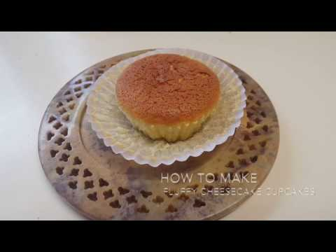 How to Make Fluffy Cheesecake Cupcakes