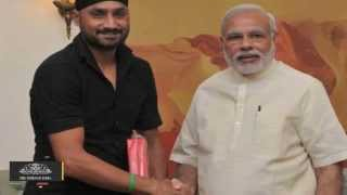 Harbhajan Singh Invites PM Narendra Modi for His Reception