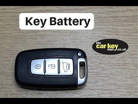 Key Battery Hyundai ix35 HOW TO change