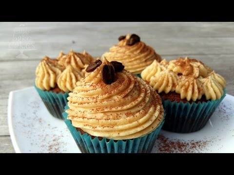Tiramisu cupcakes - TUTORIAL