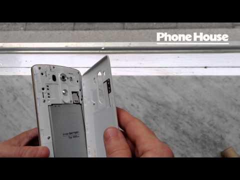 LG G3 knock code, avtagbar baksida, SD-kort