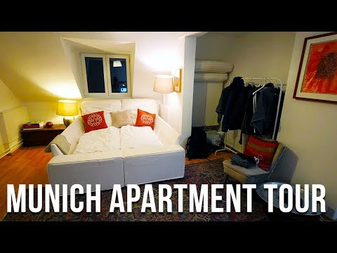 MUNICH APARTMENT TOUR IN GERMANY+ AIRBNB TIPS | TRAVEL