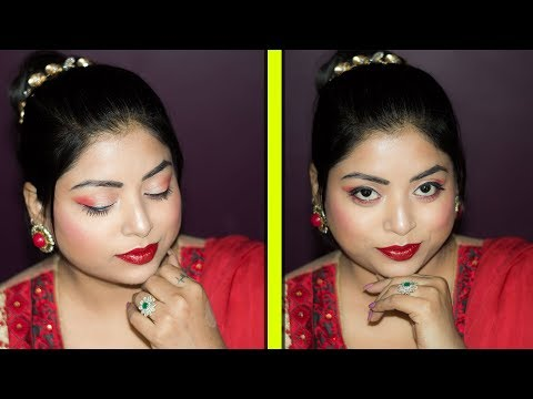 Easy And Affordable EID Makeup Tutorial For Beginners | Step By Step Makeup | Indian Makeup