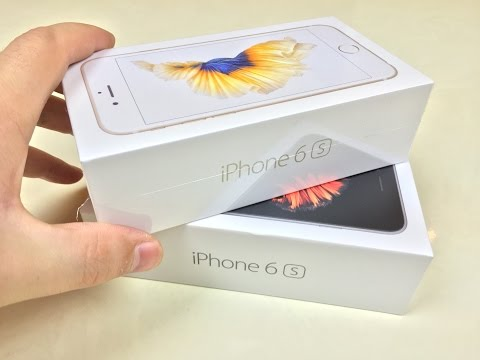 iPhone 6S Space Grey Unboxing