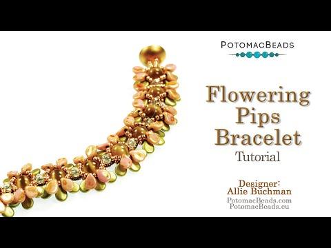 Flowering Pips Beadweaving Design