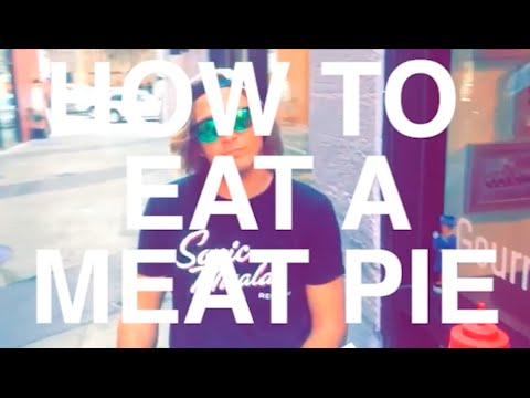How to Eat an Aussie Meat Pie