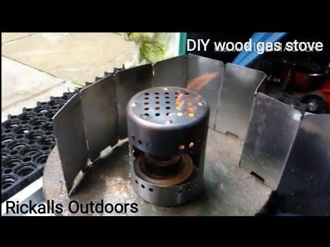 How to make a wood/meth gas stove out of a kitchen utensil