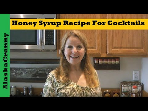 Honey Syrup Recipe For Cocktails
