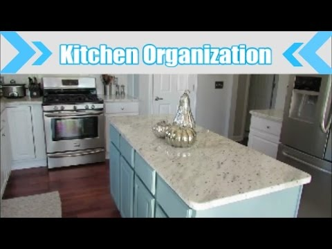 Organized Kitchen on a Budget | Kitchen Cabinets and Drawer Organization