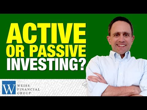 Beat The Benchmarks or Follow the Benchmarks? - Active vs Passive Investment Strategy