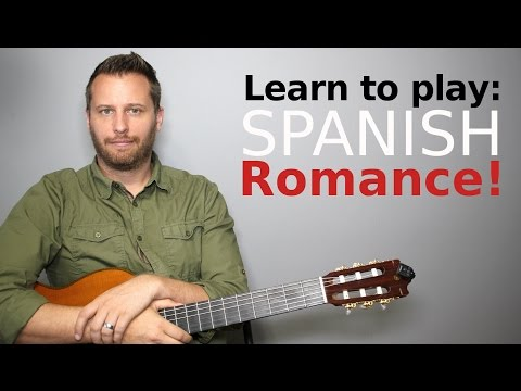 Spanish Romance - Guitar Tutorial with TAB!