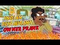 Rude Indian Restaurant Owner Loses His Temper soo Mad