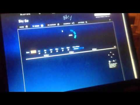 Skygo xbmc working