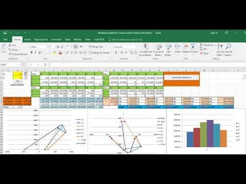Excel hexapod simulation