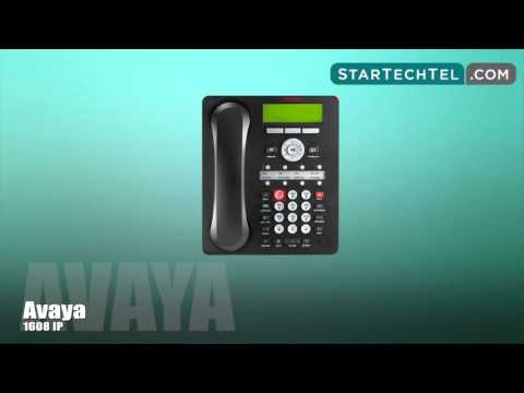 How To Hold And Transfer Calls On The Avaya 1608 IP Phone.