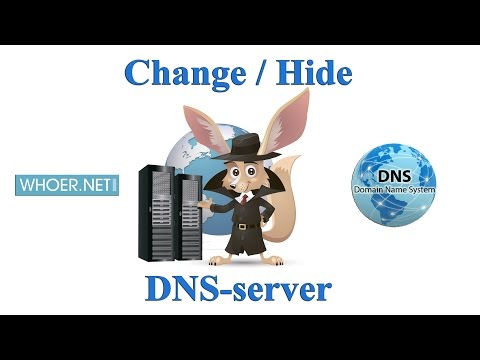 How to change or hide DNS server