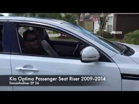 Kia Optima 2009-2014 Passenger Seat Problem