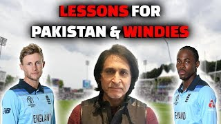 Lessons for Pakistan and Westindies
