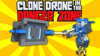 The Amazing New Hammer! - Clone Drone in the Danger Zone Alpha Gameplay - Funny Moments