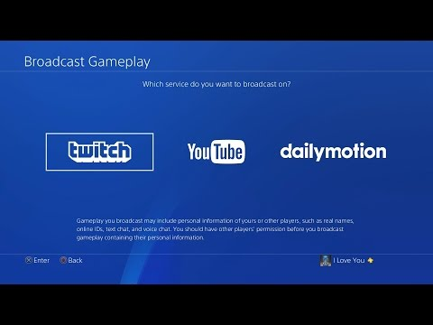 How to Live Stream on PS4 (Twitch/Youtube) *BEST SETTINGS*
