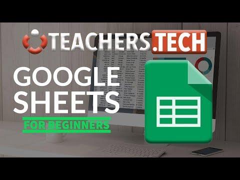 Google Sheets Tutorial - Designed for Beginners