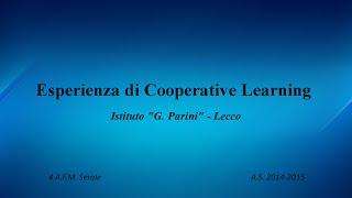 Esperienza di Cooperative Learning