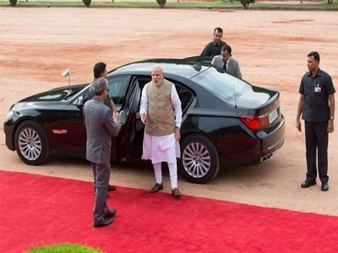 See : How safe is Indian PM Narendra Modi's BMW TANK and SPG security