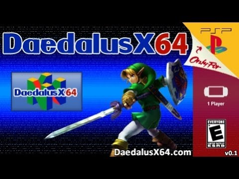 Daedalus x64 Zelda Ocarina Of Time On My PS Vita RUNNING SMOOTH!