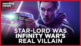 Why Star-Lord Was Infinity War
