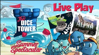 Exchange and The Alpha live! (Dice Tower 2020 Summer Spectacular)