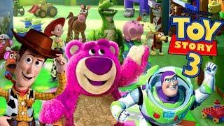 TOY STORY 3 ESPAÑOL PELICULA COMPLETA del juego (personajes de pelicula Toy Story Buzz Jessie Rex)