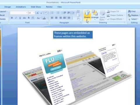 PowerPoint 2007 Tutorial 2.2. Art Objects and Effects