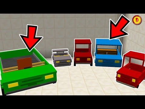MINECRAFT HOW TO GET CARS (NO MODS) - (Ps3/Xbox360/PS4/XboxOne/WiiU/Switch)