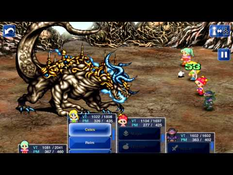 Final Fantasy VI iOS「Boss ~ Ultima Weapon」