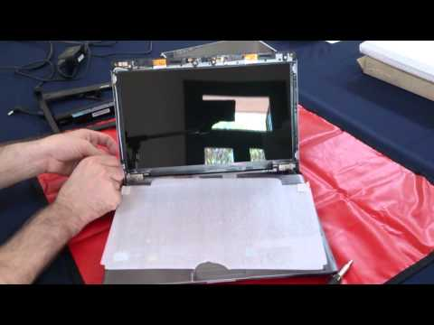 Laptop screen replacement / How to replace laptop screen in an Acer Aspire AS3810TZ-4402