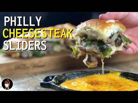Philly Cheesesteak Sliders | the BEST Cheesesteak Recipe