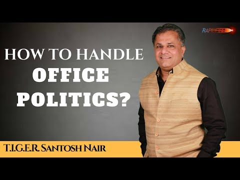 How to handle OFFICE POLITICS? Rapid fire with Santosh Nair