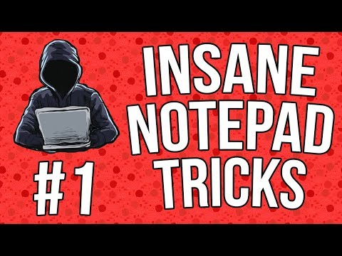 Best Notepad Tricks & Hacks + Codes [Part 1] [#07]