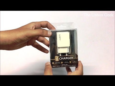 MTT Dual Port 2.1Amp Fast Charging Adapter Unboxing & Overview (INDIA)