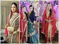 Exclusive Design Of Khada Dupatta /Royal Hydrabadi Bridal Dress Collection Worlds Beauty