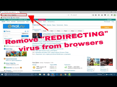 How to easily remove the REDIRECTING virus from ur browsers without any software