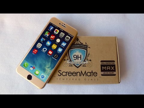 iLoome ScreenMate Max Screen Protector for iPhone 6+: Edge to Edge Protection!