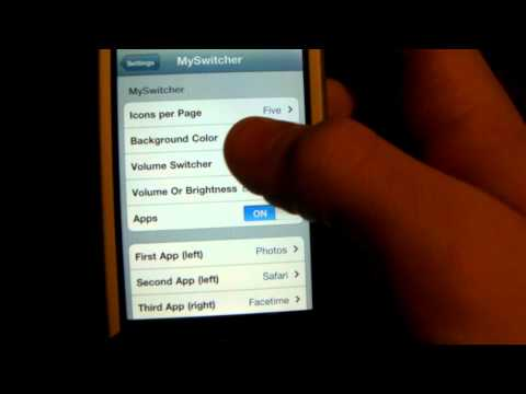 MySwitcher - Cydia Tweak Change multitasking menu iPhone 4 3gs iPod Touch 4th 3rd 2nd gen