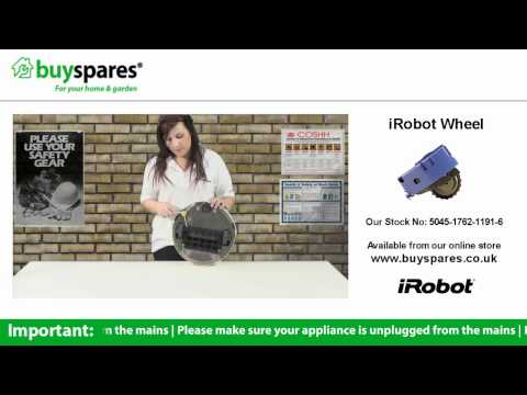 How To Replace the Wheel on an iRobot Roomba Vacuum Cleaner