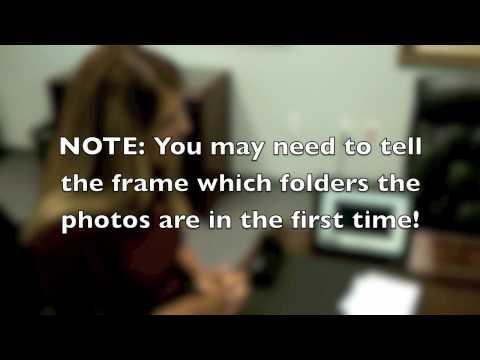 Quick Start - Kodak P460 Transferring the SD Card to a Digital Photo Frame
