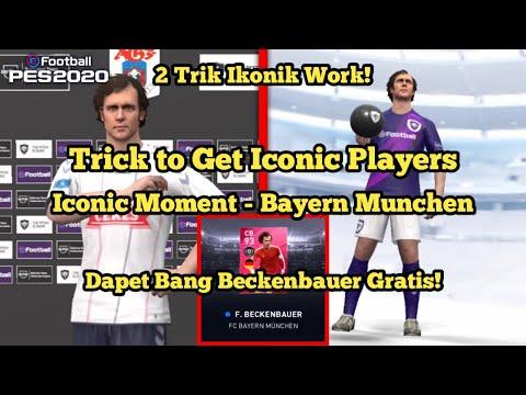 Cara Mendapatkan Beckenbauer di Iconic Moment Bayern Munchen! 2 Trik Ikonik Terbaru! PES 2020 MOBILE