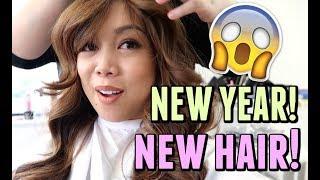 NEW YEAR, NEW HAIR!!! - January 02, 2018 -  ItsJudysLife Vlogs
