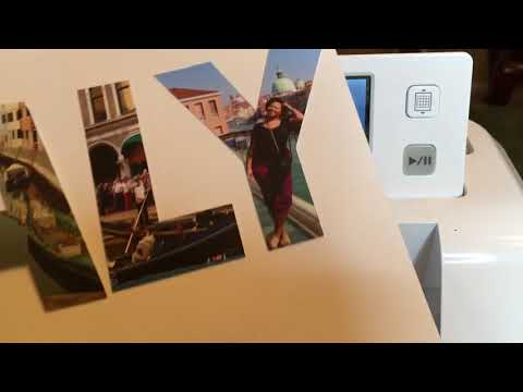 How to Put Images inside of Letters - Cutting out Photos with the Brother Scan and Cut